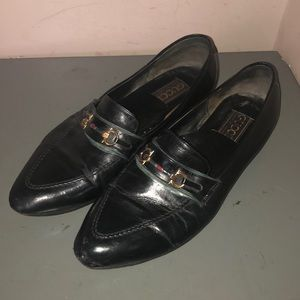 Gucci loafers horsebit shoes black leather Mexico